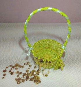 Плетёные изделия и корзинки