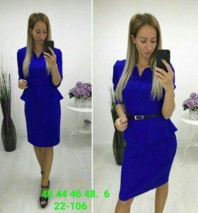 Новое платье с баской!