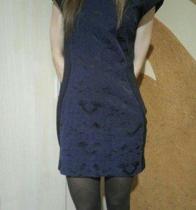 Платье черное серьги в подарок