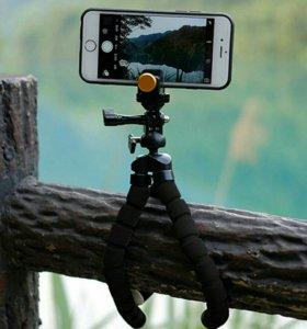 Новый штатив осьминог с адаптером для фотосъемок