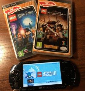 Портативная игровая приставка PSP Sony