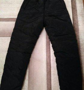 Синтепоновые женские штаны р.42