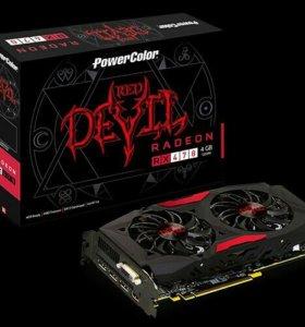 Видеокарта Powercolor Radeon RX470 3DH/OC