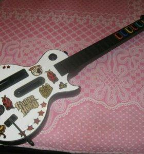 Гитара для Nintendo wii