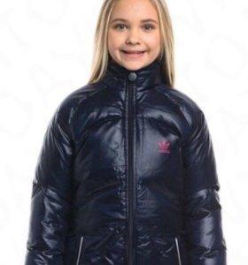 Новый пуховик куртка adidas оригинал