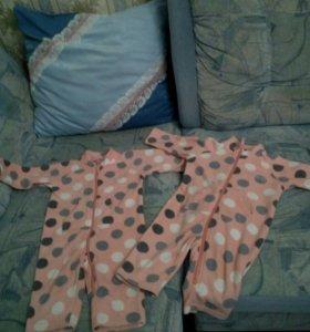Одежда для двойни. Комбинезоны флисовые, валенки
