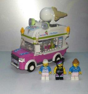 Лего 2 в 1 Машина с мороженым. Оригинал