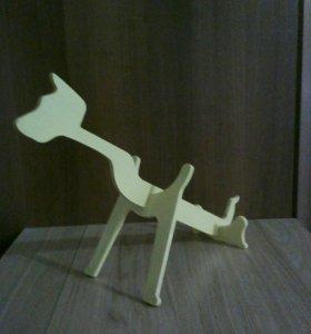 Новогодний сувенир, собака.