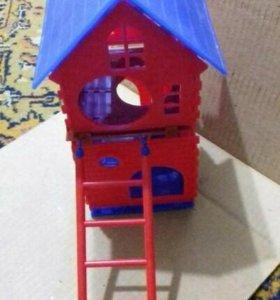 Домик 2 этажа