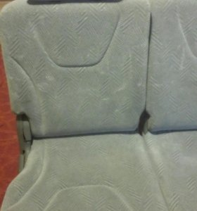 Третий ряд сидений