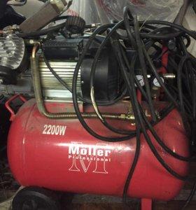 Воздушный компрессор. Möller AC 400/100