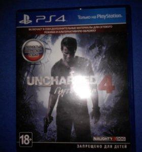 Uncharted 4 Путь Вора русская версия для PS4