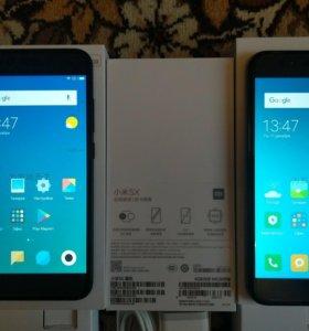 Xiaomi Mi 5X 4/64. Чёрный. Новый.