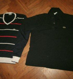 Lacoste свитер джемпер и тенниска поло футболка ..