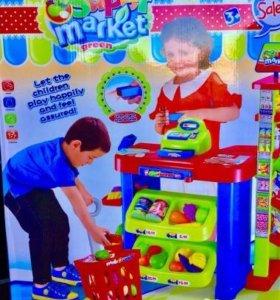 Магазин касса детская игровая Супермаркет