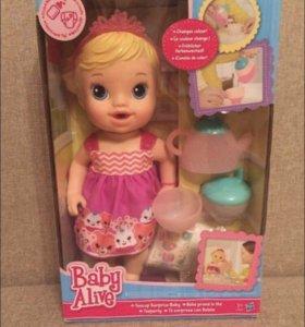 Кукла baby alive