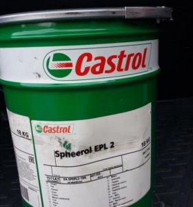 Castrol Spheerol EPL 2 18kg (смазка)