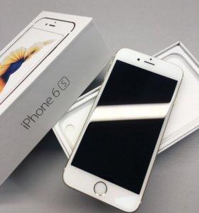 iPhone 6s-64Gb Gold идеальное состояние
