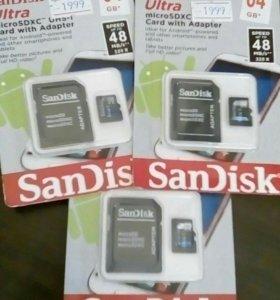Flash micro SD 64gb