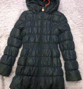 Пуховик-пальто на девочку