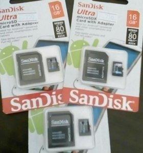 Flash micro SD 16gb