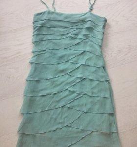Платье Шелк Франция новое размер М