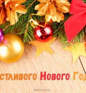 Новогодние видеопоздравления