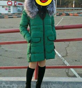 Зимние пуховик
