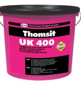 Клей для линолеума и Пвх плитки ThomsitUK 400 14кг