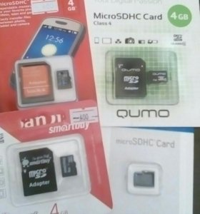 Flash micro SD 4gb