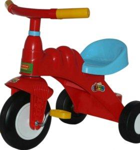 Велосипед трёхколёсный Полесье