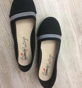 Обувь-слипоны. НОВЫЕ