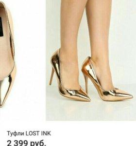 новые Женские туфли (марки Lost Ink)
