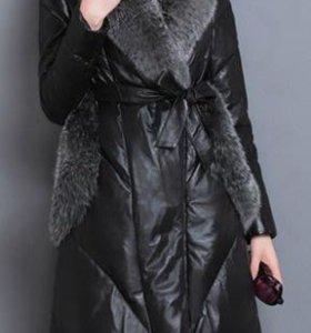 Женское новое пальто-зима