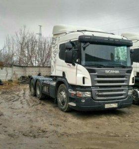 Scania р380 6*4 тягач