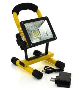 Светодиодный прожектор 30Вт, аккумуляторный