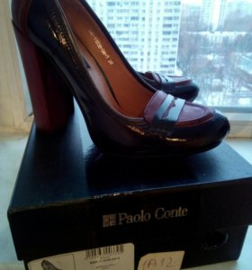 Туфли р. 39, нат.кожа Paolo Conte