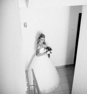 Свадебное платье дёшево