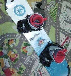 Детский сноуборд комлект