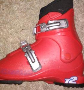 Детские горнолыжные ботинки Salomon