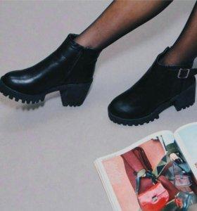 Полусапожки ботинки ботильоны сапожки сапоги