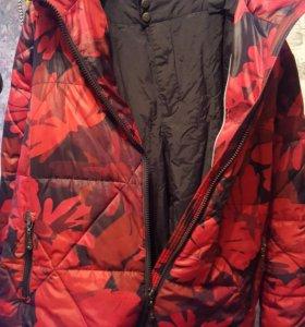 Костюм штаны шуршалки и куртка горнолыжная 56
