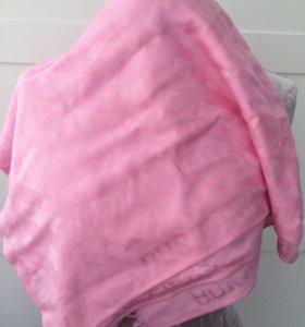 Розовый платок шарф Burberry