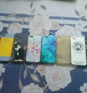 Чехлы на айфоны 4,4s,5,5s,6