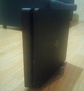 Sony playstation 4 slim 500gb + вер.подставка