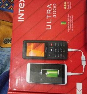 Телефон INTEX ultra 4000