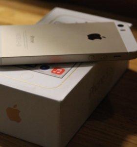 Продаю iPhone 5s 16 gb gold