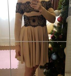 Почти новое платье