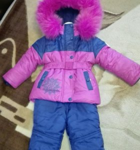 Зимний комбинезон на девочку фирмы Donilo