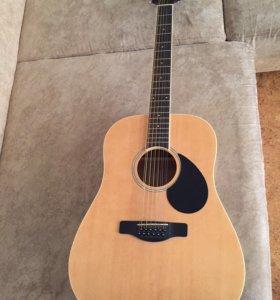 Электроакустическая 12 струнная гитара